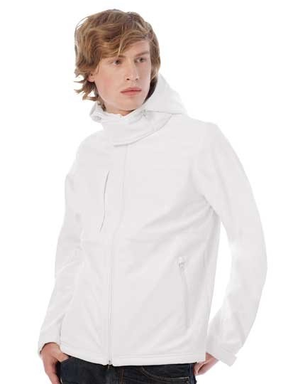 Hooded Softshell Jacke / Men