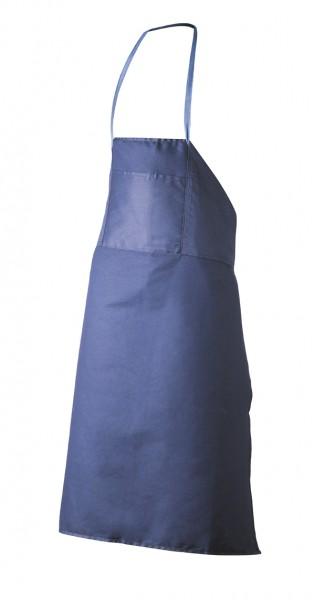 Latzschürze Baumwolle blau
