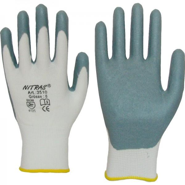 Arbeitshandschuh Nylon-Nitril 3510