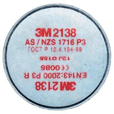 Partikelfilter 3M 2138 P3R gegen feste und flüssige Partikel