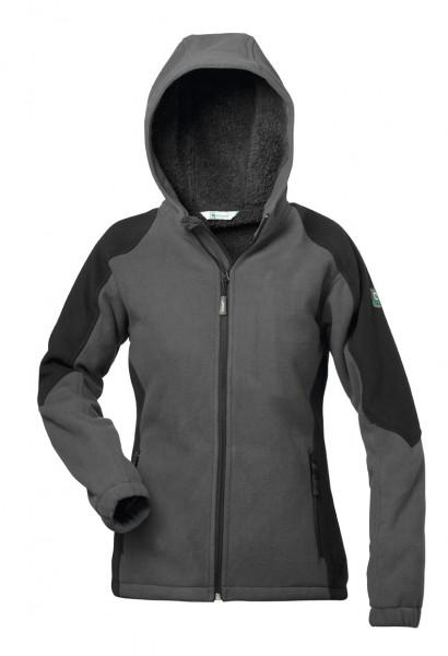 Damen-Fleece-Jacke mit Teddyfutter Espoo - Modern Fit