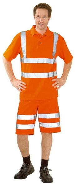 Warnschutz Polo-Shirt uni