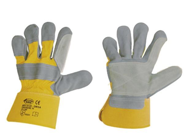 Arbeitshandschuh Rindspaltleder-Handschuhe ORISA