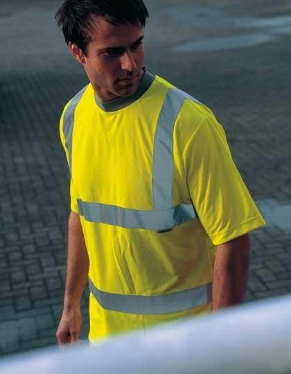 Hochsichtbares Warnschutz T-Shirt SA22080