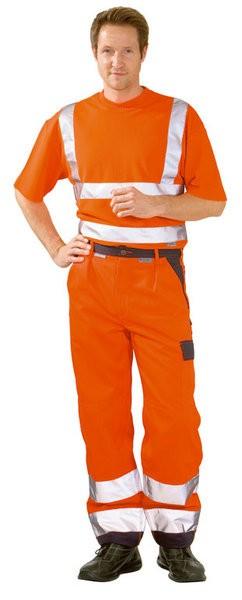 Warnschutz Bundhose zweifarbig