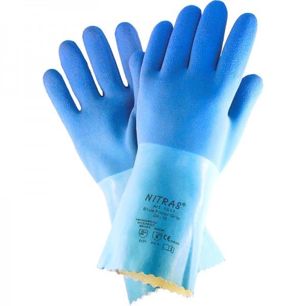 Arbeitshandschuh Blue Power Grip 1611