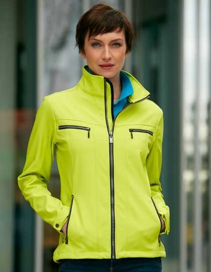 Ladies´ Tailored Softshell Jacke