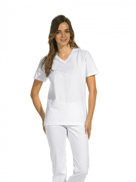 Unisex T-Shirt 08/2448 mit V-Ausschnitt