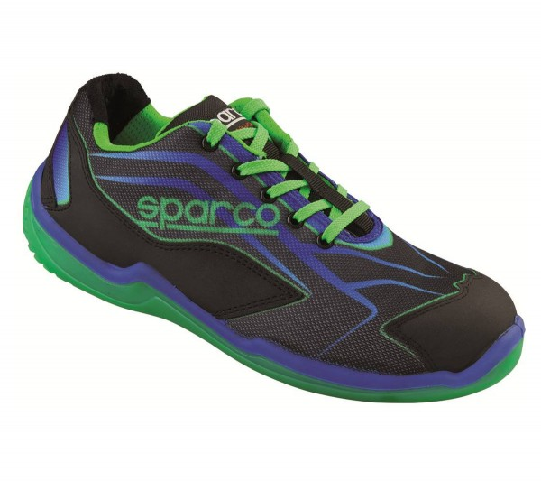SPARCO TOURING L S1P Black-Green