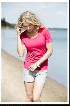Damen T-Shirt - Ladies Stretch Tee TJ450