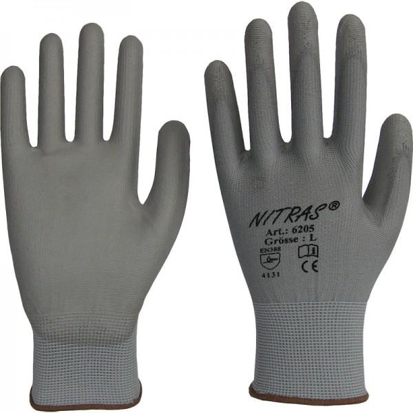 Arbeitshandschuh Nylon-Handschuhe mit PU-Beschichtung