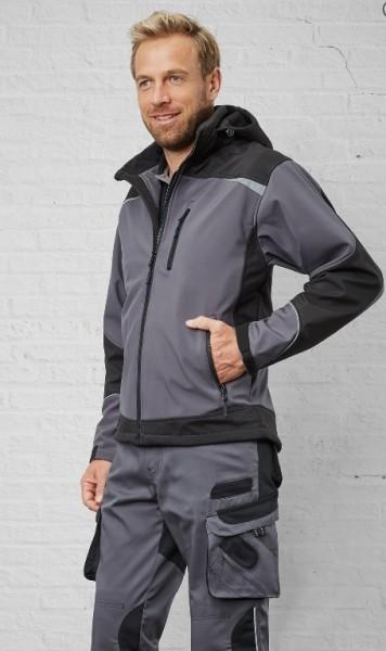 PIONIER Workwear 2-farbige Softshelljacke für Beruf und Freizeit